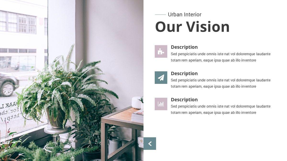 Urban - Interior Powerpoint Template, Slide 5, 06290, Business Models — PoweredTemplate.com