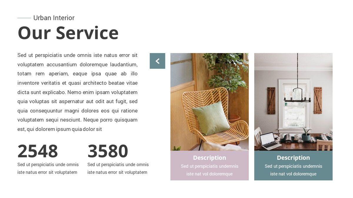 Urban - Interior Powerpoint Template, Slide 6, 06290, Business Models — PoweredTemplate.com