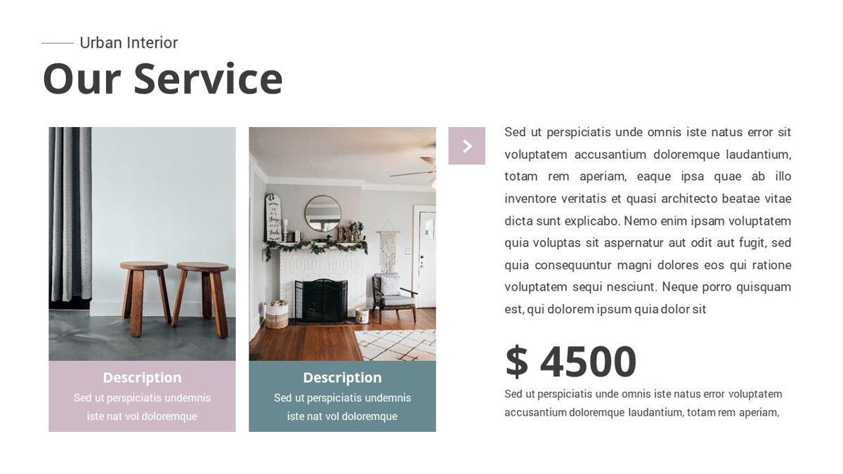 Urban - Interior Powerpoint Template, Slide 7, 06290, Business Models — PoweredTemplate.com
