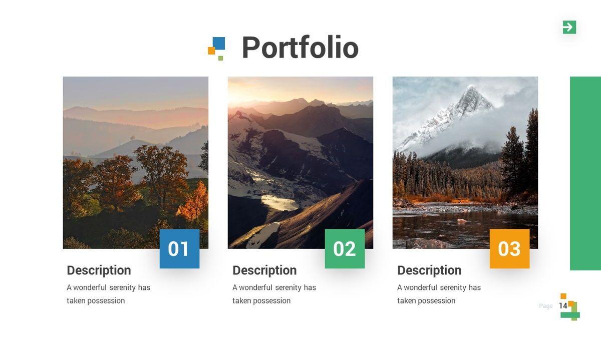 Lampu - Innovative Powerpoint Template, Slide 15, 06294, Business Models — PoweredTemplate.com