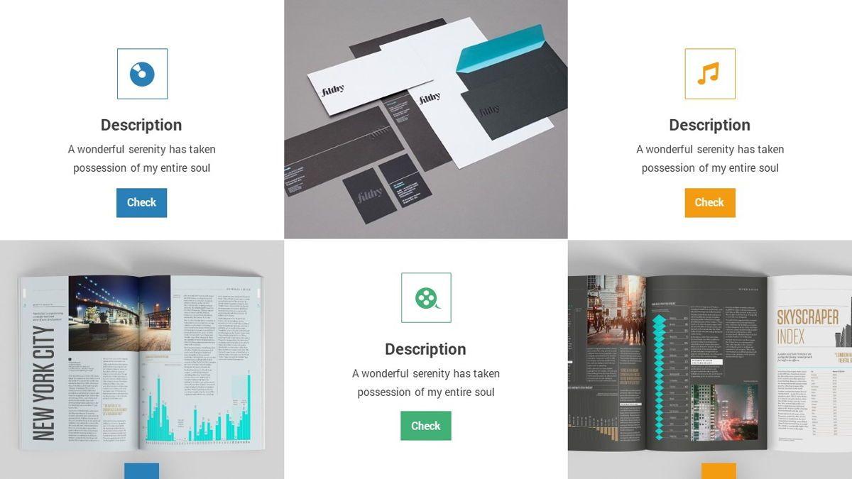 Lampu - Innovative Powerpoint Template, Slide 17, 06294, Business Models — PoweredTemplate.com