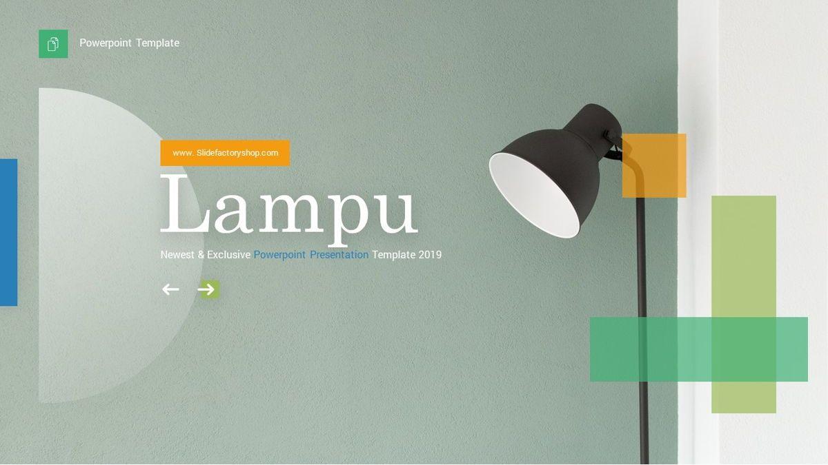 Lampu - Innovative Powerpoint Template, Slide 2, 06294, Business Models — PoweredTemplate.com