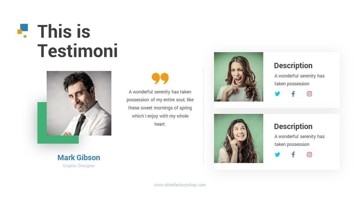 Lampu - Innovative Powerpoint Template, Slide 29, 06294, Business Models — PoweredTemplate.com