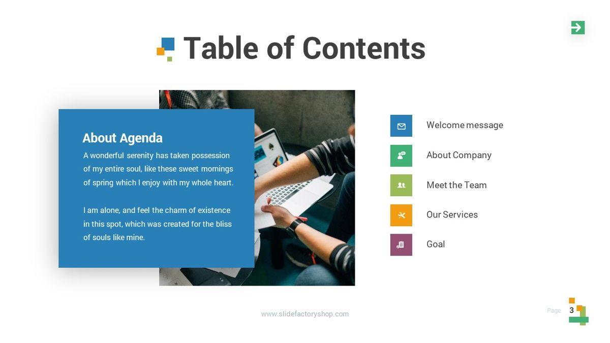 Lampu - Innovative Powerpoint Template, Slide 4, 06294, Business Models — PoweredTemplate.com
