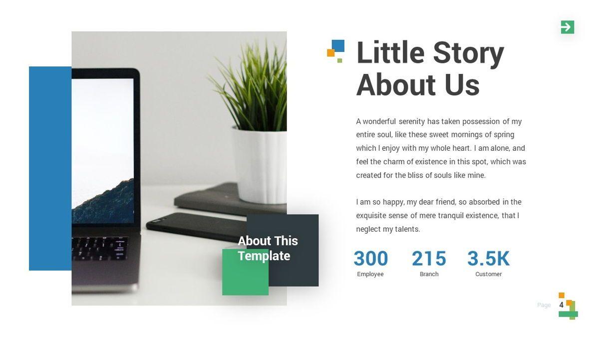 Lampu - Innovative Powerpoint Template, Slide 5, 06294, Business Models — PoweredTemplate.com