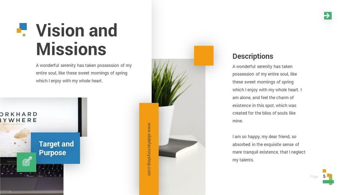 Lampu - Innovative Powerpoint Template, Slide 6, 06294, Business Models — PoweredTemplate.com