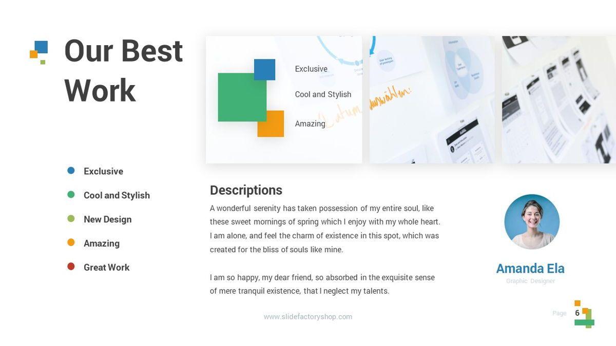 Lampu - Innovative Powerpoint Template, Slide 7, 06294, Business Models — PoweredTemplate.com