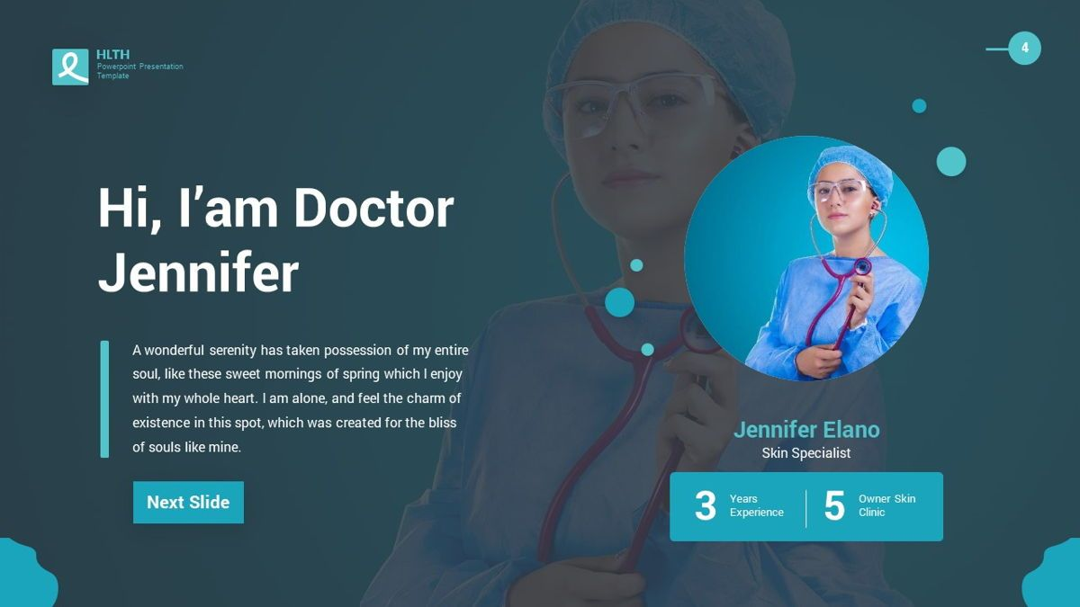 HLTH - Health Powerpoint Template, Slide 5, 06295, Data Driven Diagrams and Charts — PoweredTemplate.com