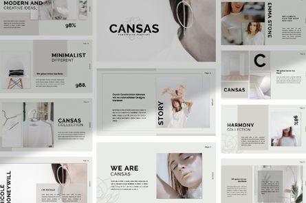 Presentation Templates: Cansas Business Google Slide #06300