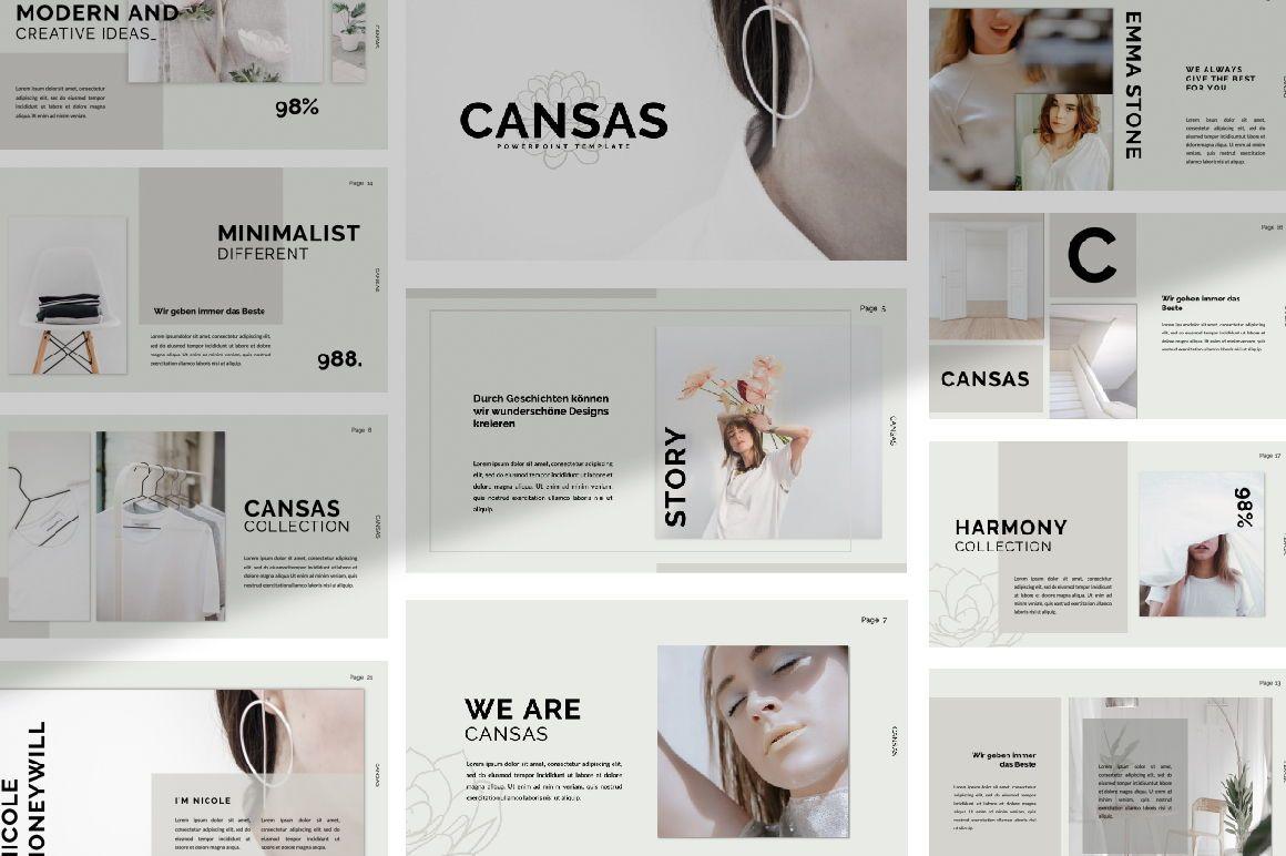 Cansas Business Google Slide, 06300, Presentation Templates — PoweredTemplate.com