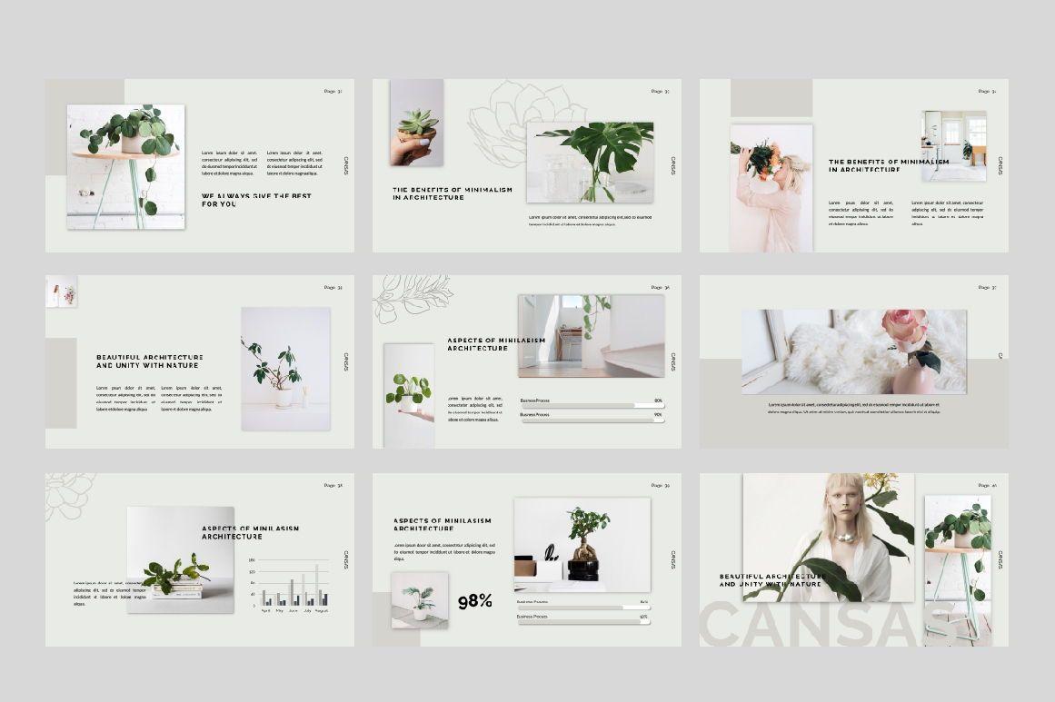 Cansas Business Google Slide, Slide 5, 06300, Presentation Templates — PoweredTemplate.com