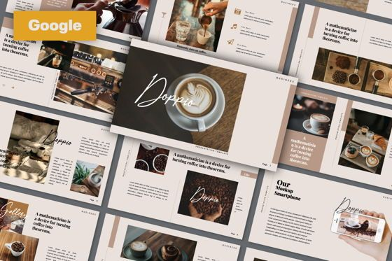 Presentation Templates: Dopio Creative Google Slide #06302
