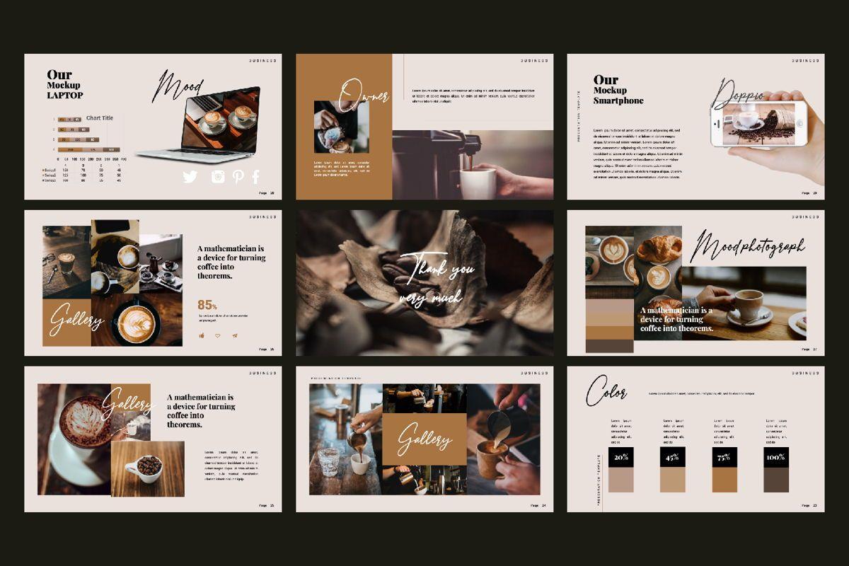 Dopio Creative Google Slide, Slide 2, 06302, Presentation Templates — PoweredTemplate.com