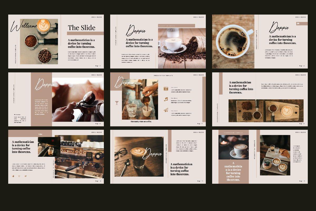 Dopio Creative Google Slide, Slide 3, 06302, Presentation Templates — PoweredTemplate.com