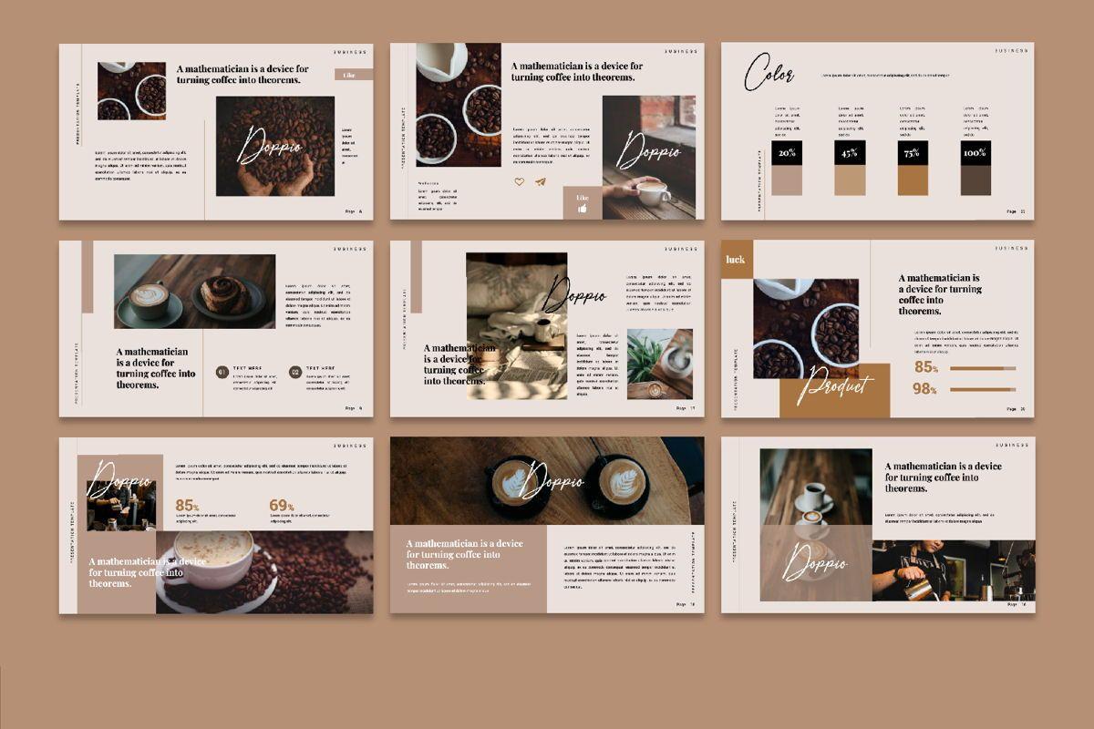 Dopio Creative Google Slide, Slide 4, 06302, Presentation Templates — PoweredTemplate.com