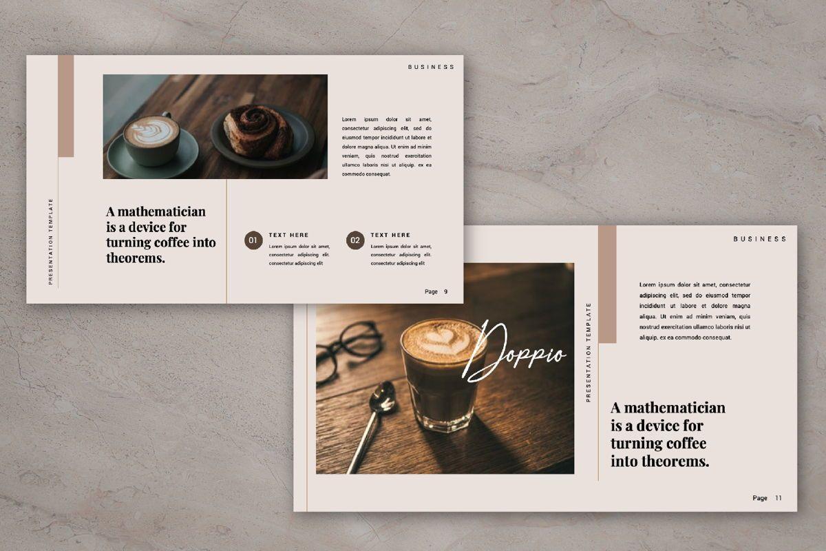 Dopio Creative Google Slide, Slide 5, 06302, Presentation Templates — PoweredTemplate.com