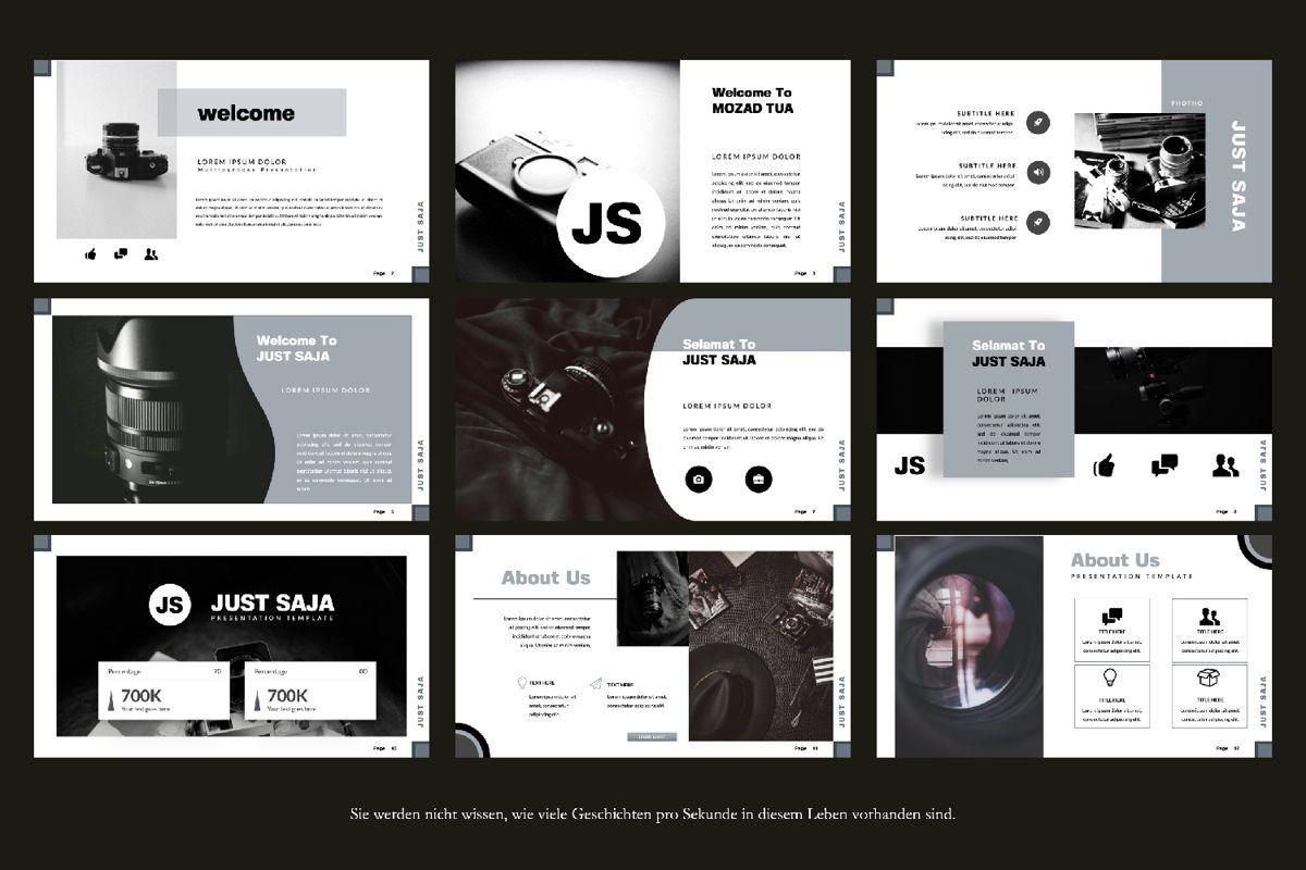 Just Saja Creative Keynote, Slide 3, 06305, Presentation Templates — PoweredTemplate.com