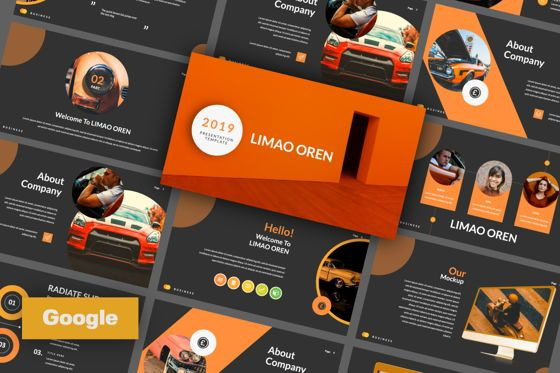 Presentation Templates: Limaou Oren Creative Google Slide #06308