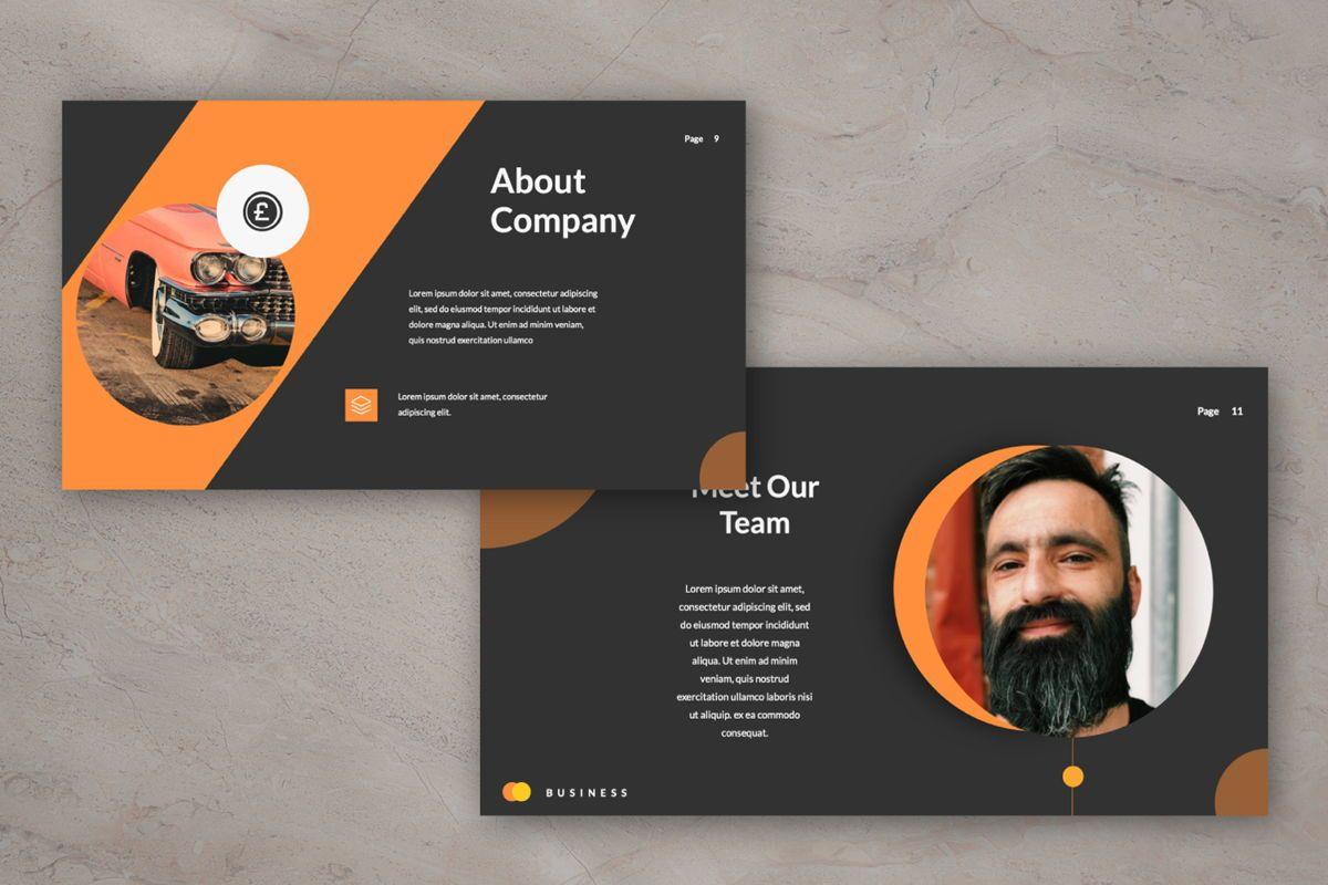 Limaou Oren Creative Google Slide, Slide 5, 06308, Presentation Templates — PoweredTemplate.com