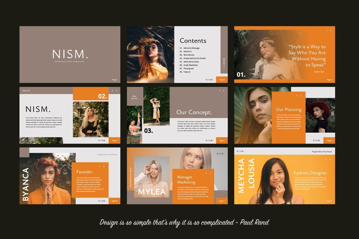 NISM Creative Keynote, Slide 2, 06313, Presentation Templates — PoweredTemplate.com