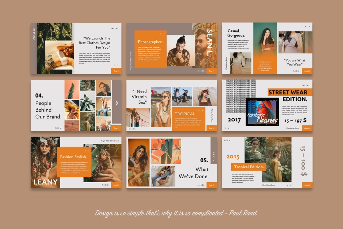 NISM Creative Google Slide, Slide 5, 06314, Presentation Templates — PoweredTemplate.com