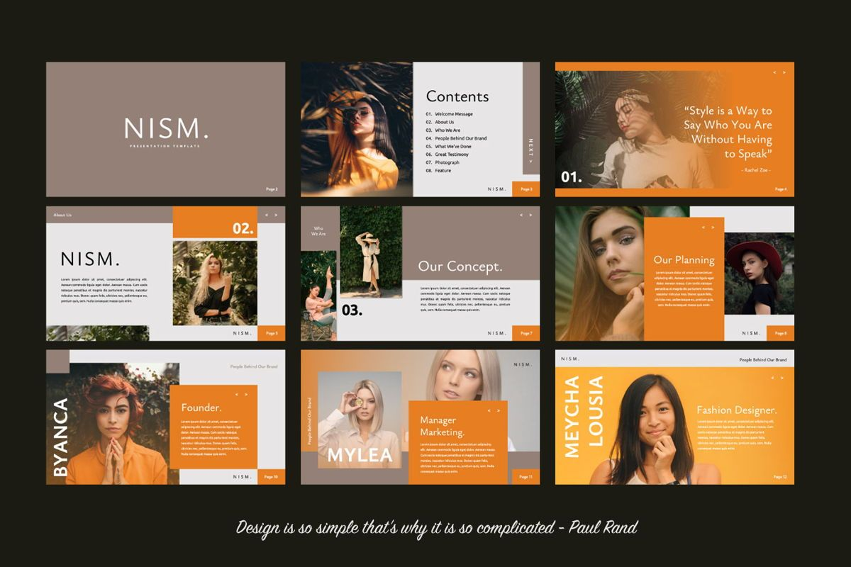 NISM Creative Powerpoint, Slide 2, 06315, Presentation Templates — PoweredTemplate.com