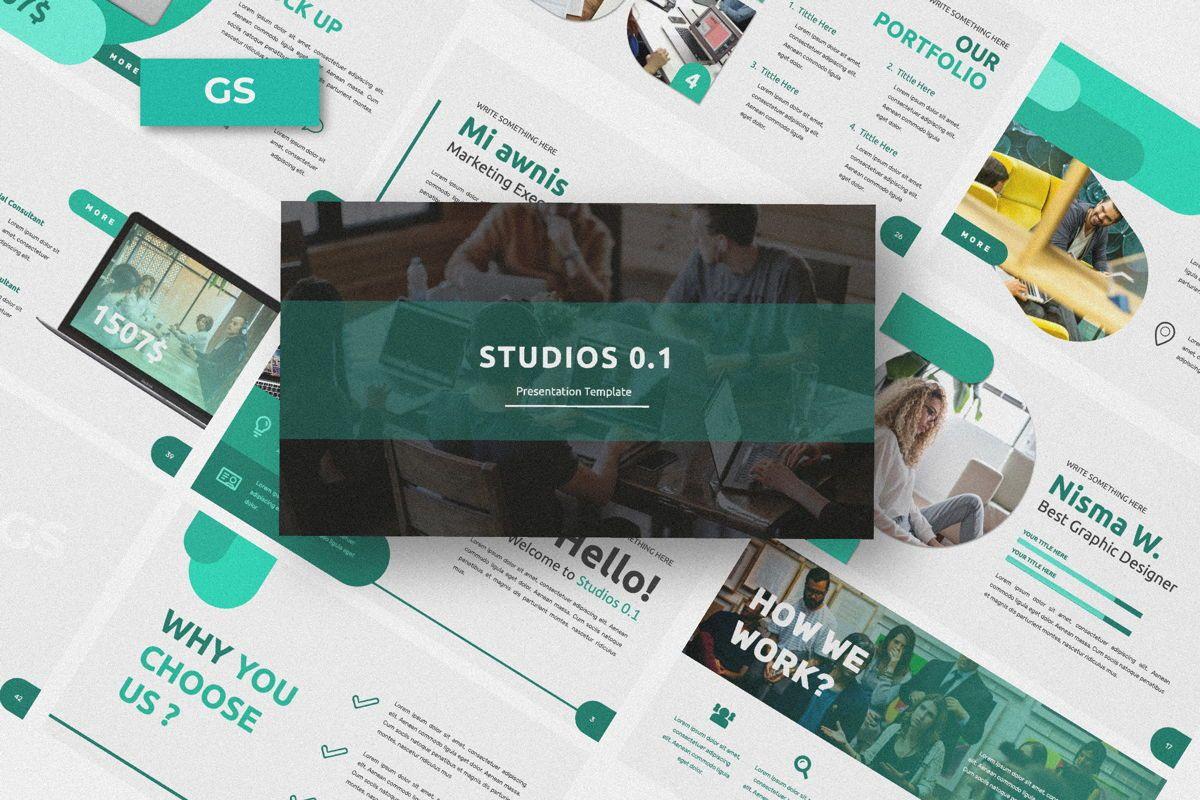 Studio 1 0 Business Google Slide, 06318, Presentation Templates — PoweredTemplate.com