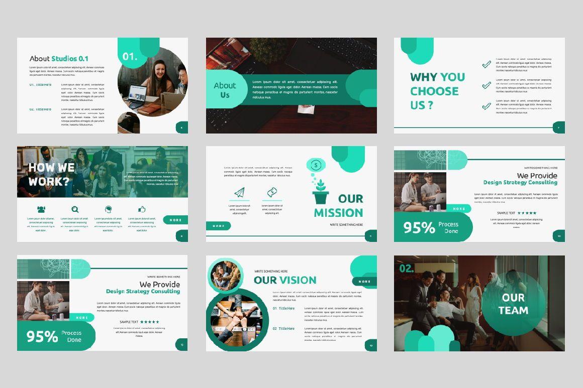Studio 1 0 Business Google Slide, Slide 2, 06318, Presentation Templates — PoweredTemplate.com