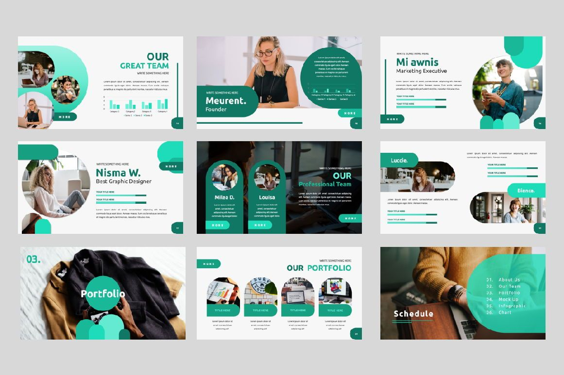 Studio 1 0 Business Google Slide, Slide 3, 06318, Presentation Templates — PoweredTemplate.com