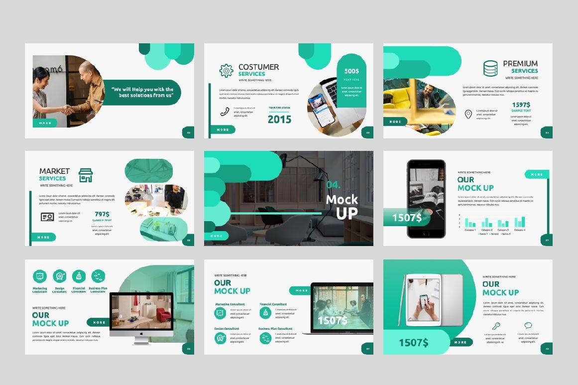 Studio 1 0 Business Google Slide, Slide 5, 06318, Presentation Templates — PoweredTemplate.com