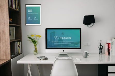 Presentation Templates: UI Magazine Business Keynote #06319