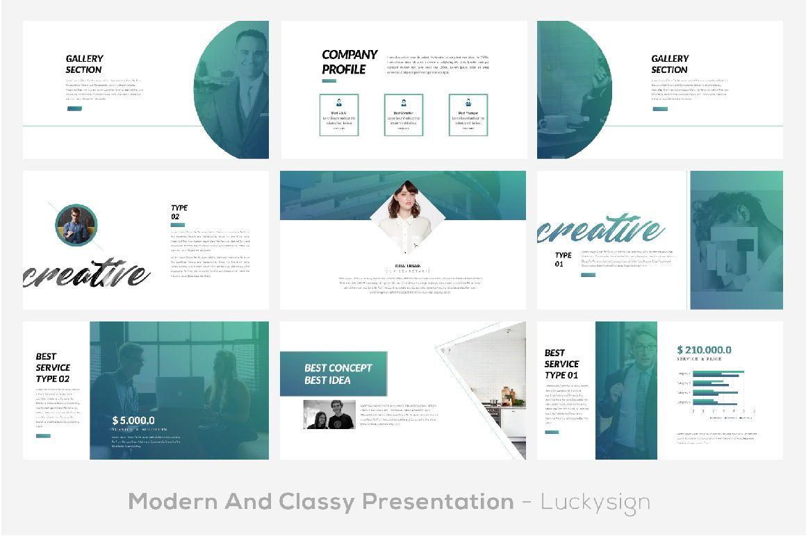 UI Magazine Business Google Slide, Slide 2, 06321, Presentation Templates — PoweredTemplate.com