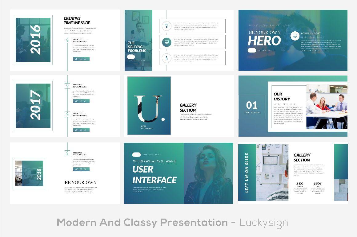 UI Magazine Business Google Slide, Slide 5, 06321, Presentation Templates — PoweredTemplate.com