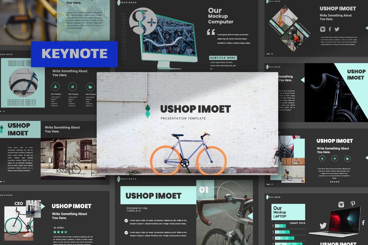 Ushop Imoet Creative Keynote, 06323, Presentation Templates — PoweredTemplate.com