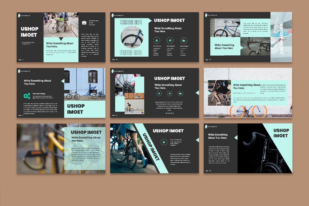 Ushop Imoet Creative Google Slide, Slide 4, 06324, Presentation Templates — PoweredTemplate.com