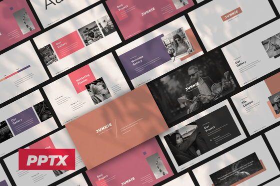 Presentation Templates: Junkie Creative Powerpoint #06325