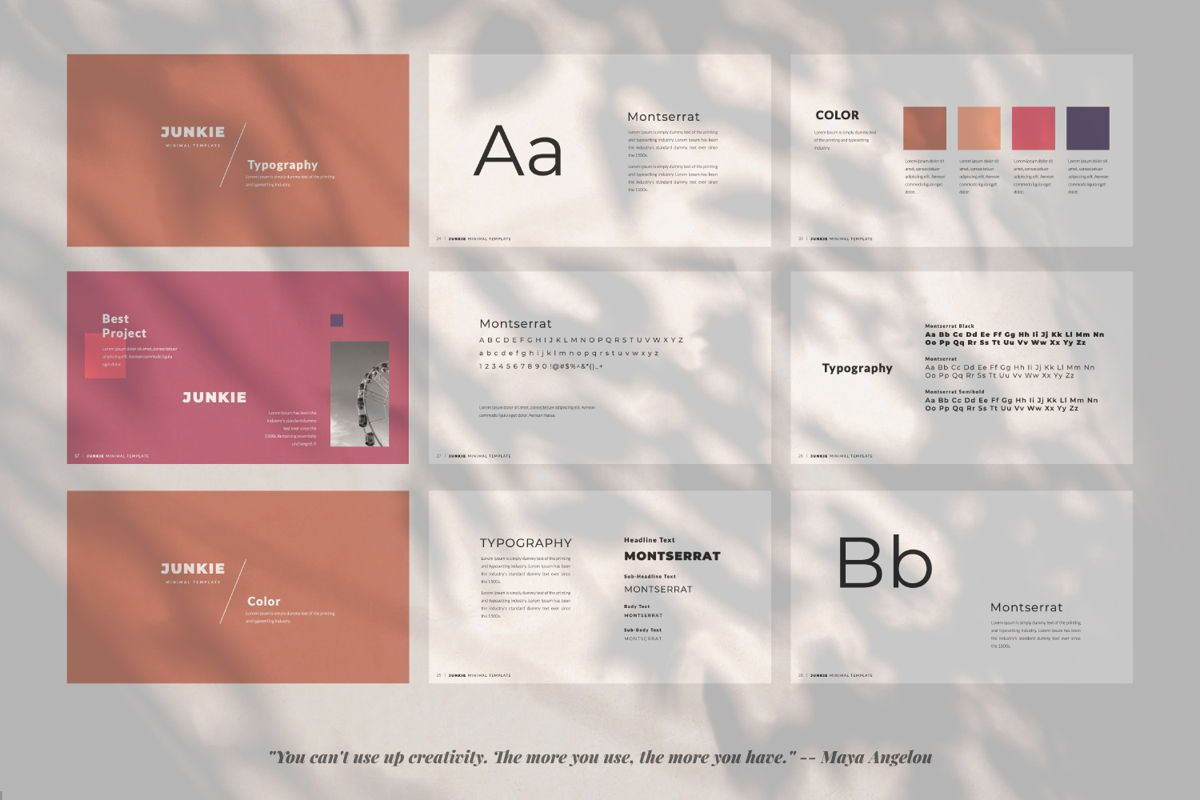 Junkie Creative Powerpoint, Slide 3, 06325, Presentation Templates — PoweredTemplate.com