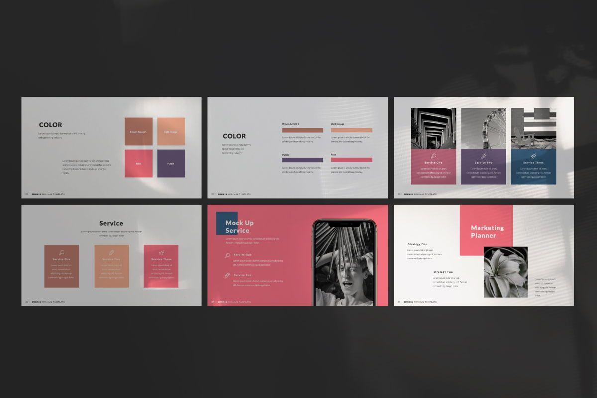 Junkie Creative Keynote, Slide 9, 06326, Presentation Templates — PoweredTemplate.com