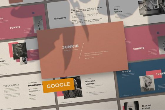 Presentation Templates: Junkie Creative Google Slide #06327