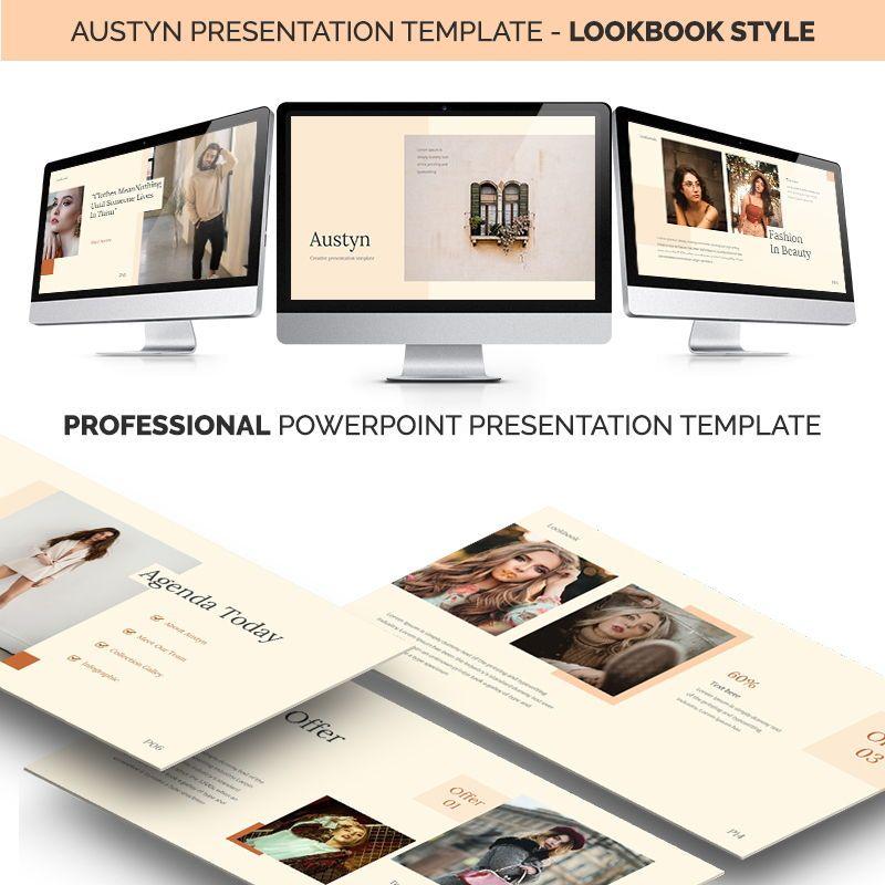 Austyn Presentation Template, 06329, Business Models — PoweredTemplate.com
