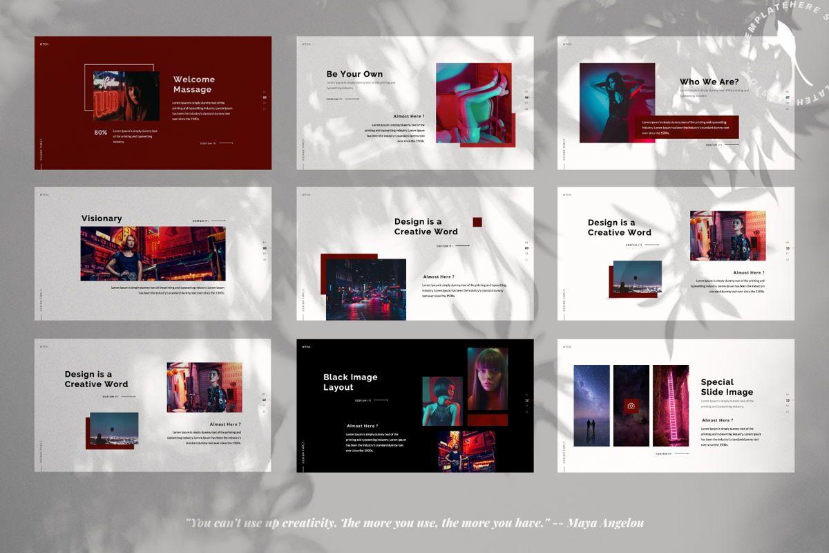 Heartache Creative Powerpoint, Slide 2, 06330, Presentation Templates — PoweredTemplate.com