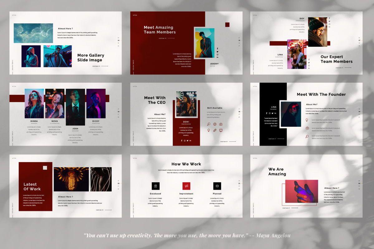 Heartache Creative Keynote, Slide 3, 06331, Presentation Templates — PoweredTemplate.com