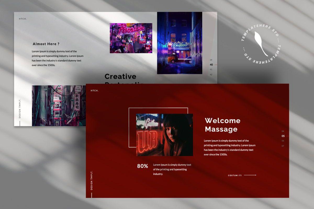 Heartache Creative Keynote, Slide 8, 06331, Presentation Templates — PoweredTemplate.com