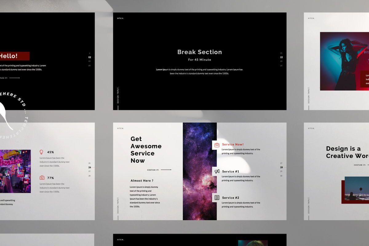 Heartache Creative Keynote, Slide 9, 06331, Presentation Templates — PoweredTemplate.com