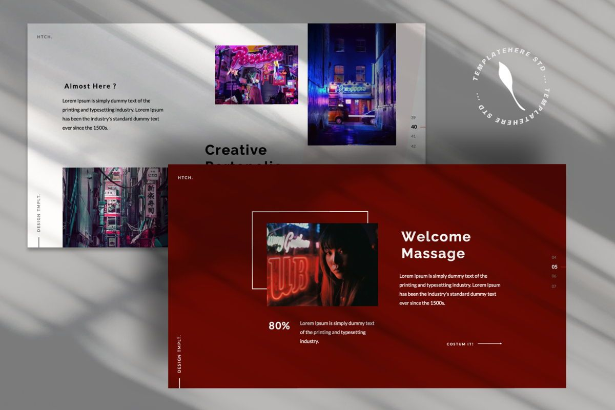 Heartache Creative Google Slide, Slide 8, 06332, Presentation Templates — PoweredTemplate.com