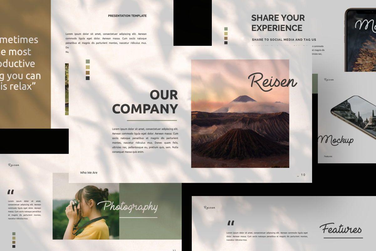 Reisen Creative Powerpoint, Slide 6, 06333, Presentation Templates — PoweredTemplate.com