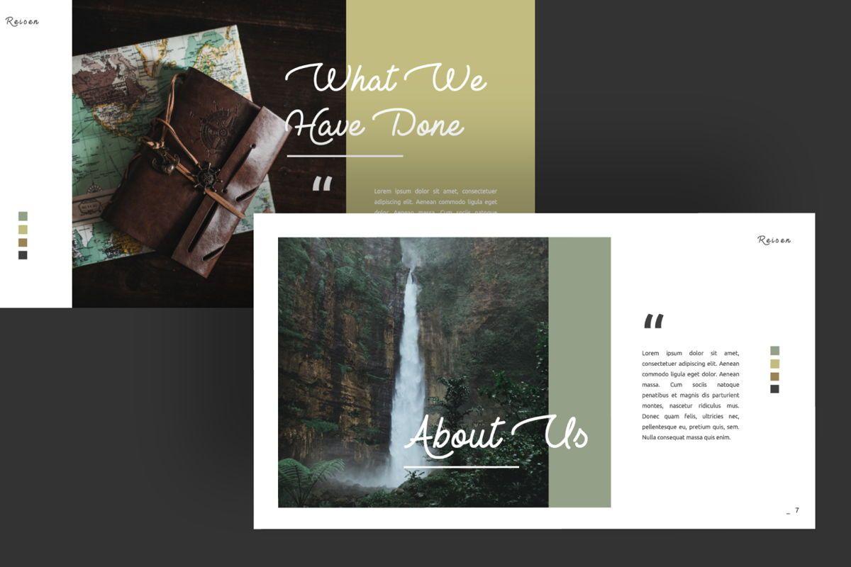 Reisen Creative Powerpoint, Slide 9, 06333, Presentation Templates — PoweredTemplate.com