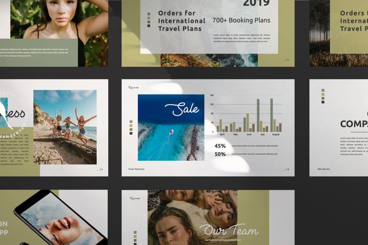 Reisen Creative Keynote, Slide 8, 06334, Presentation Templates — PoweredTemplate.com