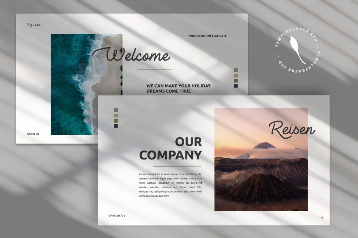 Reisen Creative Google Slide, Slide 7, 06335, Presentation Templates — PoweredTemplate.com