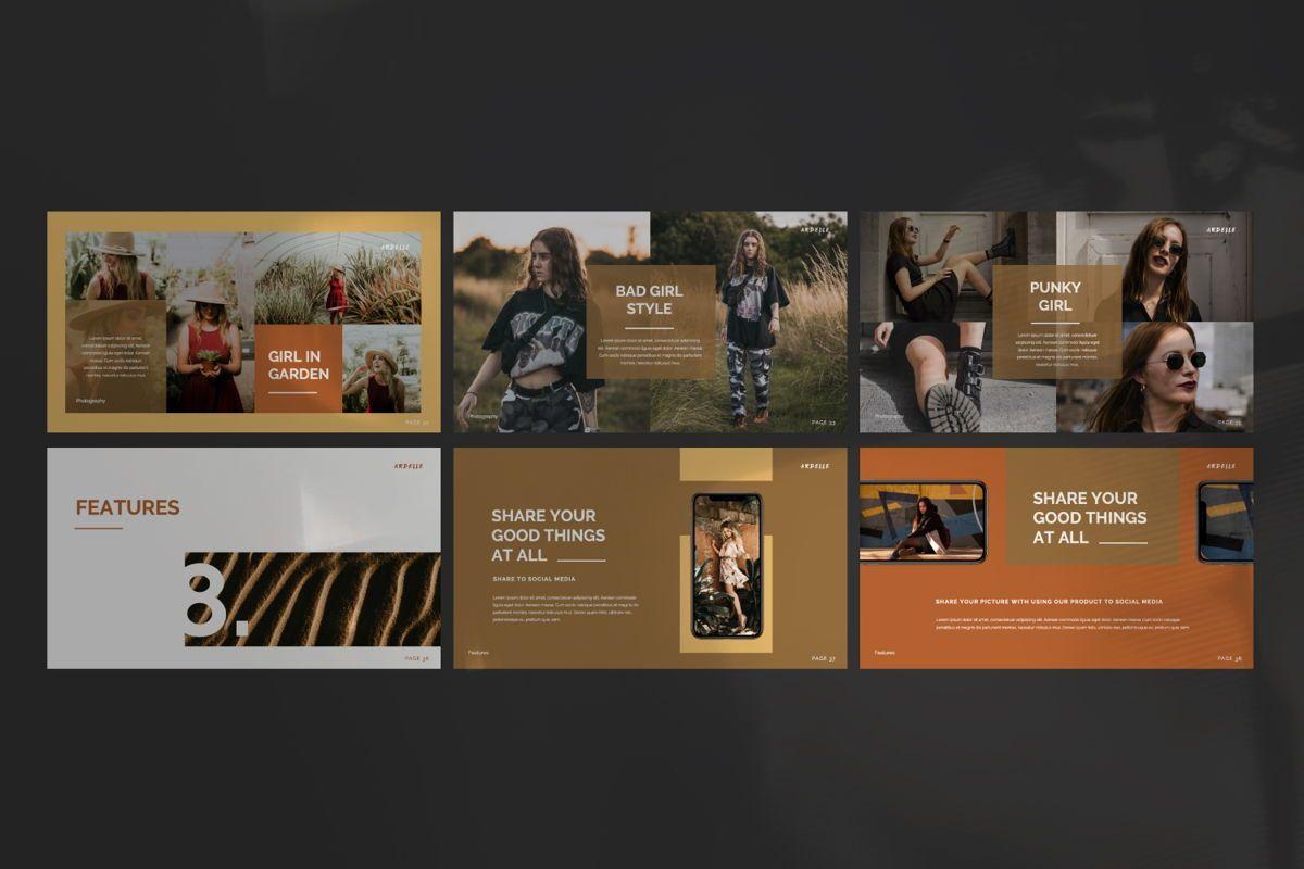 Ardelle Creative Powerpoint, Slide 4, 06336, Presentation Templates — PoweredTemplate.com